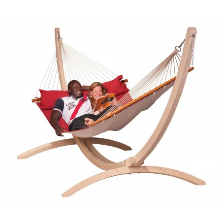 Alabama ja Canoa. Pehmustettu riippumatto erityisen miellyttäviin rentoutumishetkiin auringossa – yksin tai yhdessä!
